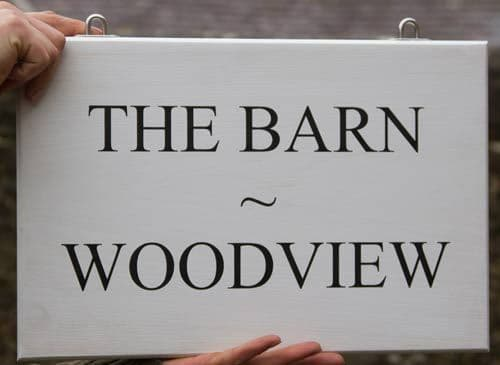 Double Sided Painted  Wooden Signs| The Sign Maker Shop
